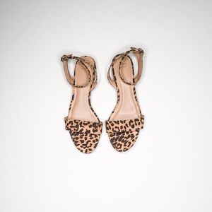 NWOT A New Day leopard Sandals